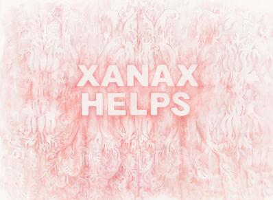 Amanda Manitach, 'Xanax Helps', 2018