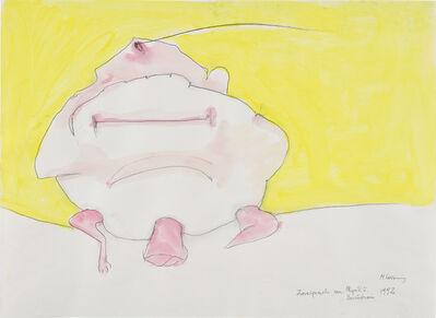 Maria Lassnig, 'Zwiesprache von Physik u Bewusstsein', 1992