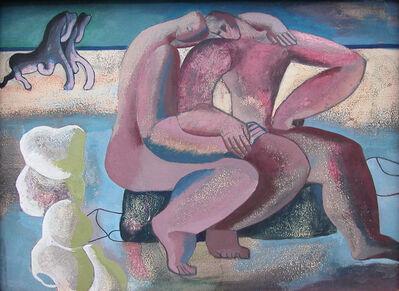 Wim Kersten, 'no title ( beach gallop)', ca. 1946