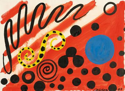 Alexander Calder, 'Spotted S', 1963