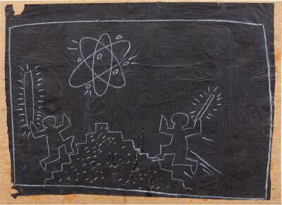 Keith Haring, 'Subway Drawing', 1980