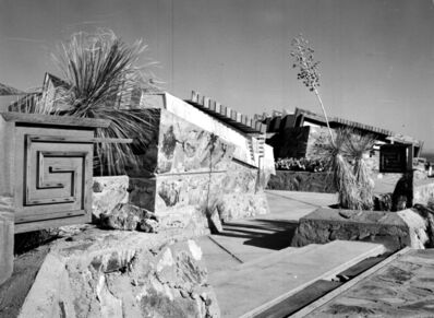 Pedro E. Guerrero, 'West Entrance with Whirling Arrow, Taliesin West, Scottsdale, AZ', 1940