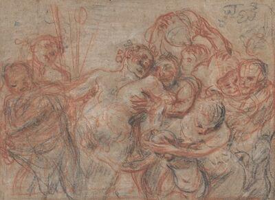 Jean-Antoine Watteau, 'The March of Silenus [recto]', ca. 1715/1716