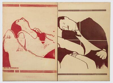 Beatriz González, 'Zócalo de la tragedia', 1983