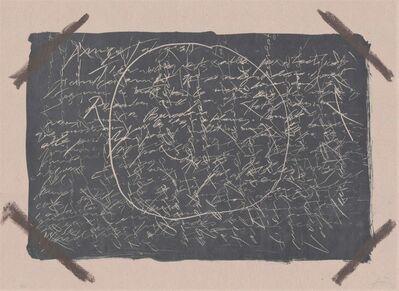 Antoni Tàpies, 'LLambrec 16', 1975