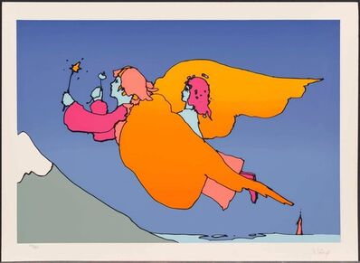 Peter Max, 'THE HIGHEST MOUNTAIN', 1977