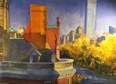 Susan Pecora, 'Back Bay Rooftops, Boston', ca. 2015