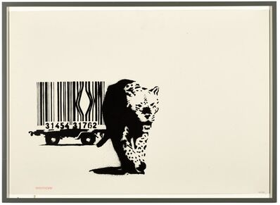 Banksy, 'Barcode (Red Stamp)', 2004
