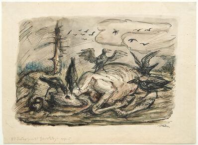 Alfred Kubin, 'Horse Cadaver', 1935