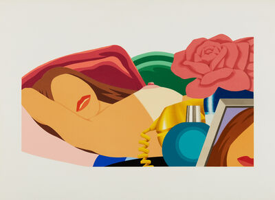 Tom Wesselmann, 'Nude with Roses', 1976