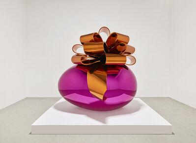 Jeff Koons, 'Smooth Egg with Bow (Magenta/Orange)', 1994-2009