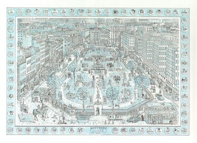 Adam Dant, 'Berkeley Square', 2019