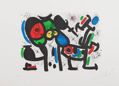 Joan Miró, 'Magie Blanche II', 1981