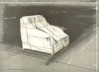 Christo, 'Wrapped Armchair, Project 1990', 1990