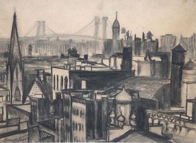 George Benjamin Luks, 'New York City Scape', ca. 1910