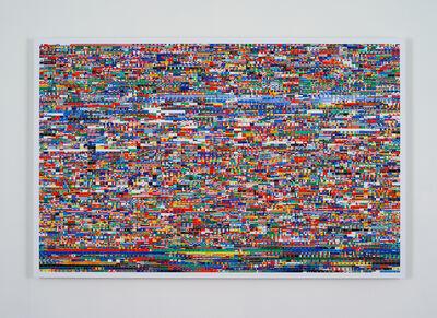 Mark Napier, 'net.flag: the first year', 2012