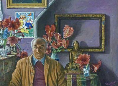 Jürg Kreienbühl, 'Portrait du Dr. Albert Hofmann', 1991