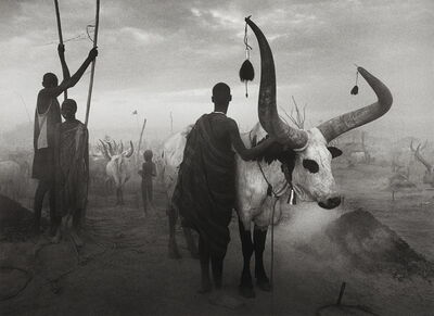 Sebastião Salgado, 'Dinka group at Pagarau, Southern Sudan, from the series Genesis', 2006