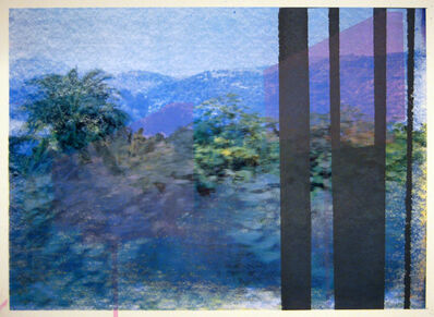 Daniele Genadry, 'Between Saida and Sur (Blue)', 2009