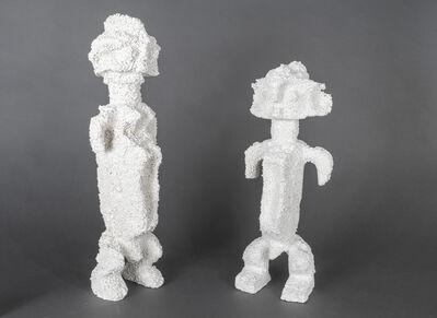 Christian Gonzenbach, 'Afrique fantôme, couple Mumuyé', 2019
