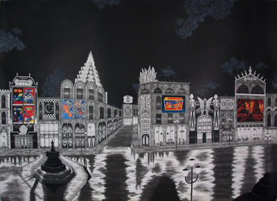 Rik Smits, 'Circus Street', 2016