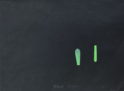 Gavin Turk, 'Black Paper', 1993