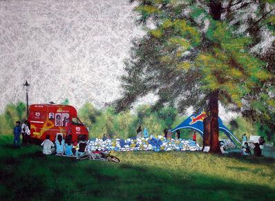Damilola Oshilaja, 'Landscape Redux; NO-nVOID/3: Amalgam of Rubbish (Park Life)', 2005