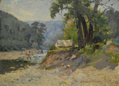 Aleksandr Nikiforovich Chervonenko, 'Mountain river', 1950