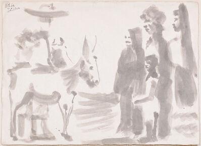 Pablo Picasso, 'Scène Villageoise', 1960