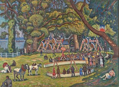 Henri Liénard de Saint-Delis, 'Untitled (Circus in the Park)'