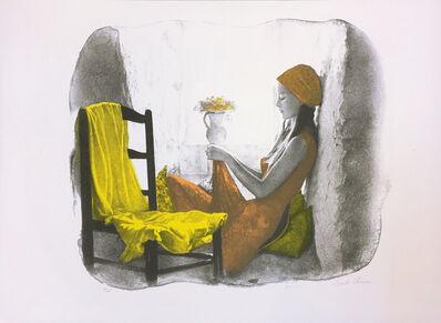 Sandu Liberman, 'GIRL AT THE WINDOW', UNKNOWN