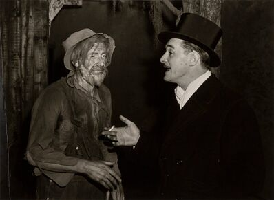 Lou Stoumen, 'Rich Man, Poor Man, New York', 1940