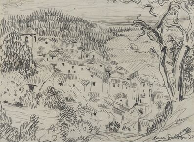 Julian Trevelyan, 'Mediterranean Landscape'