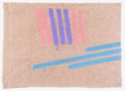 Giorgio Griffa, 'Tre colori', 1999