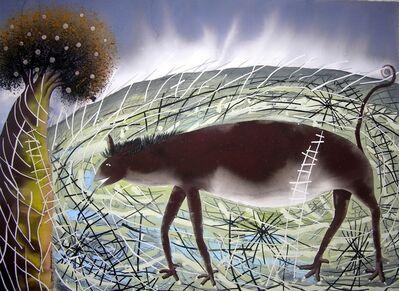 Maximino Javier, 'Mascotas y escaleras ', 1998