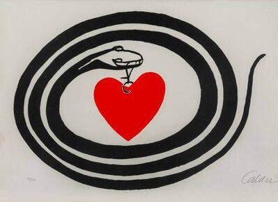 Alexander Calder, 'Mois Mondial du Coeur', 1972