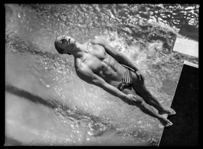 David Burnett, 'Platform Diving, Olympic previews, Fort Lauderdale, Florida, USA May', 1996
