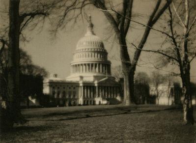 Ira Martin, 'U.S Capitol', 1920-1930