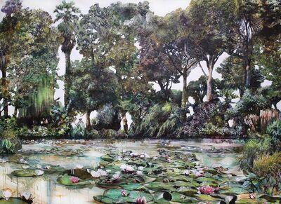 Luis Bivar, 'After Monet Garden', 2018