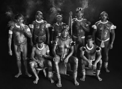 Sebastião Salgado, 'Group portrait of Kamayura shamans. Upper Zingnu, Mato Grosso, Brazil.', 2005