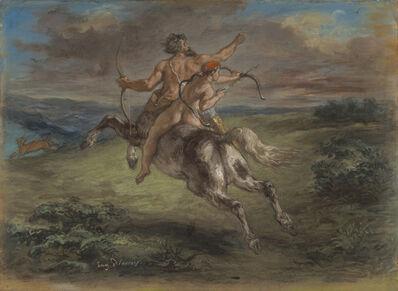 Eugène Delacroix, 'The Education of Achilles', 1862