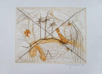 Jonathan Meese, 'Zwei Schwenze fur ein Halleluja', 2006