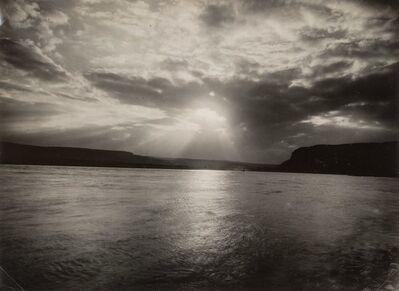 August Sander, 'Der Rhein bei Zing'