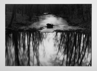 Paul Caponigro, 'Reflecting Stream, Redding, CT', 1968