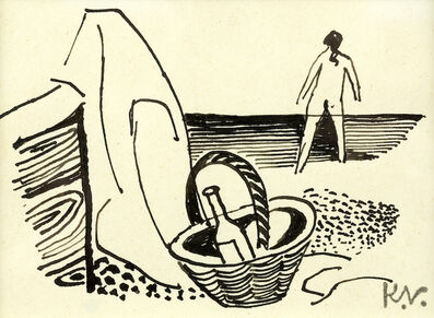 Keith Vaughan, 'Beach Scene', 1947