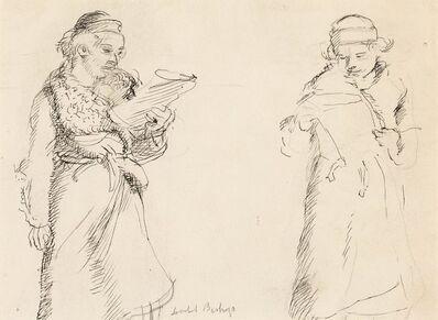 Isabel Bishop, 'Two Women', 1935