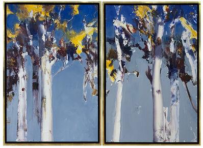 Ken Knight, 'Primal Forest  Diptych', 2020