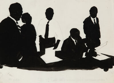 Idelle Weber, 'Dewey, Ballantine, Bushby, Palmer', 1958