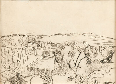Pierre Bonnard, 'Untitled (Southern Landscape with House and Trees)', ca. 1930