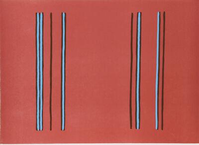 Gene Davis, 'Lilac', 1980